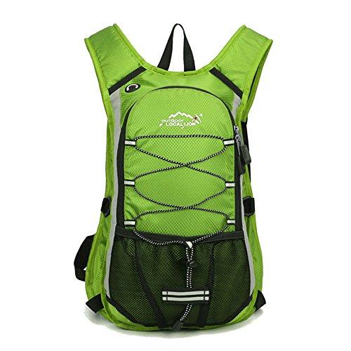 Imagen de minetom ultra ligero 12l  impermeable viaje morral deporte sport multifunción bolsa plegable trekking viajes verde version a 24*15*44 cm