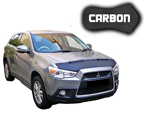 black-bull-mitsubishi-asx-carbon-protector-del-capot-car-bra-bonnet-hood-tuning-coche-mascara-nuevo