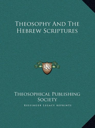 Theosophy and the Hebrew Scriptures