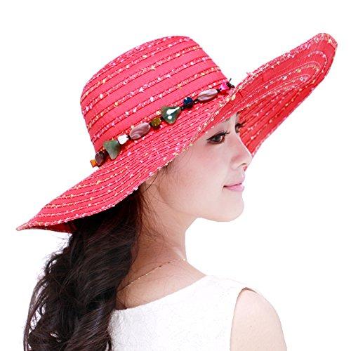 ladies Beach Sun Hat/Sun visor-UV-proof/Chapeaux de fête F