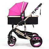 Kinderwagen Kann hochkarätiger Baby-Trolley sein Kann Winter-und Sommer-Vier-Rad-Schock Baby Trolley Liegen Einfach zu verwenden (Farbe : 3#)
