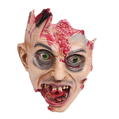 semen Halloween Horror Dekoration Erwachsene Blutige Kopf Abgehackter -