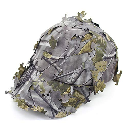 LDDENDP Camouflage Cap Baseballmütze Damen Herren - Baumwolle Low Profile Classic Polo Style Sommer Sonnencreme Schnelltrocknende Mütze Jungle Leaves Camouflage Baseballmütze Camouflage Fishing Outdoo -