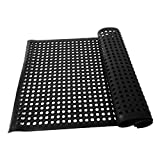 Panana Rubber Matting Water Resistant Large Outdoor Entrance Anti Slip Drainage Door Mat Flooring 5 x 3 inch by