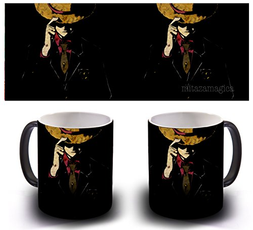 TAZA MAGICA SENSITIVA AL CALOR - LUFFY
