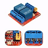 Bluelover 12V 2 Kanal Relais Modul Mit Optokoppler Unterstützung High Low Level Trigger Für Arduino