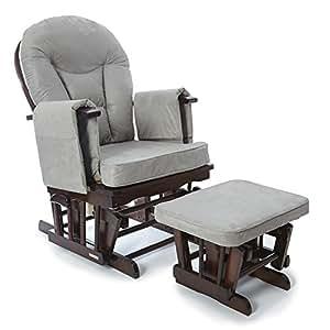 Sedia a dondolo reclinabile per gravidanza allattamento for Sedia a dondolo con poggiapiedi