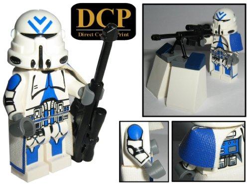 501st Legion Sniper Clone Trooper custom design Star Wars Figur gefertigt aus Lego & custom (Star Lego Wars Customs)