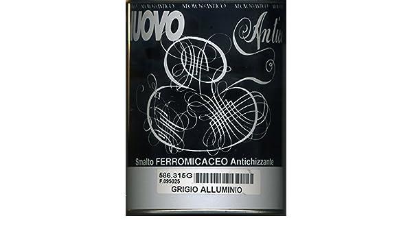 Smalto ferromicaceo nuovo & antico grigio alluminio da 750 ml