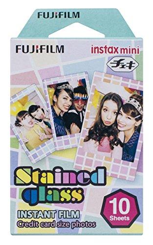Fujifilm Instax Mini Stained Glass - Película instantánea