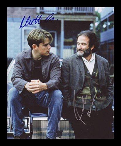Good Will Hunting - Robin Williams & Matt Damon Signiert und gerahmt Foto -