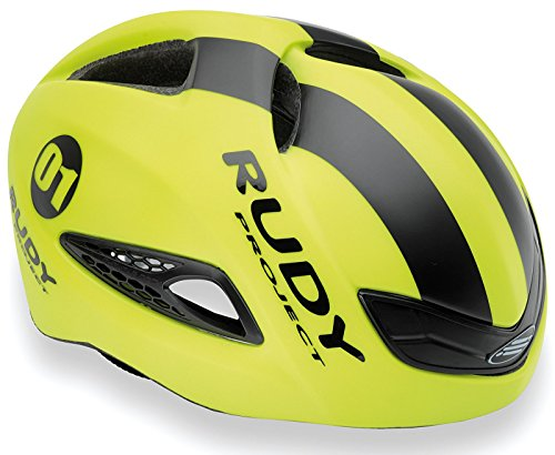 Rudy Project Casco Boost 01, Yellow Fluo/Black (Matte)