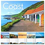 Calendar 2020, UK Coast Calendar 2020 - Biodegradable Wrapper - A4 Size
