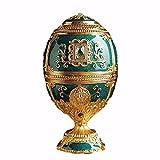 Vintage russische Retro Dekoration Russland Zahnstocher Box Ei