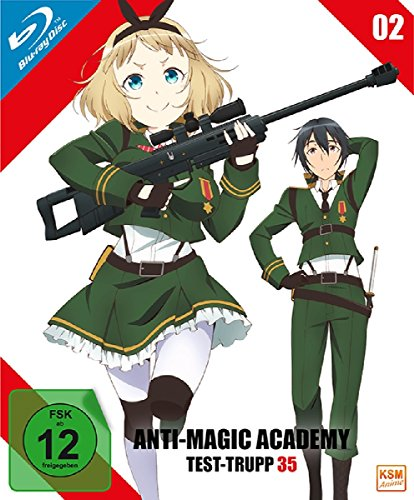 Anti-Magic Academy - Test Trupp 35 Volume 2: Episode 05-08 [Blu-ray]