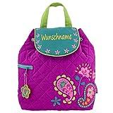 Rucksack Kindergartentasche mit Namen bedruckt Motiv Hase
