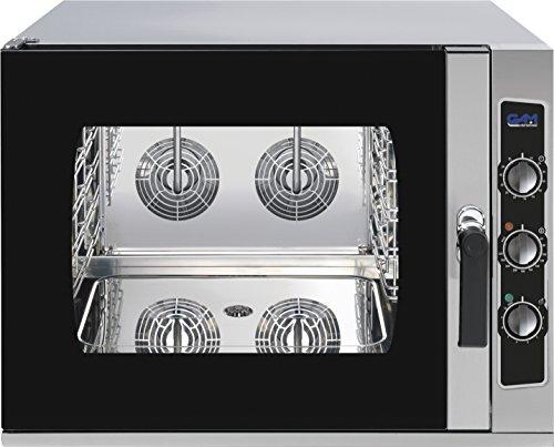 GAM Gastro Kombidämpfer Dampfgarer L04M 4 Einschübe 10800 Watt 230 Volt ***NEU***