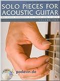 Solo Pieces for Acoustic Guitar 2 - Gitarre Noten [Musiknoten]