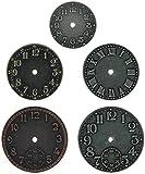 Advantus Idea-Ology orologi orologio affronta 5/Pkg-nichel/ottone/Rame