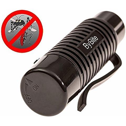 Portable del mosquito es un repelente mejorada para impedir que los mosquitos y jejenes . Es un dispositivo de accionamiento Un clip de la batería . Química y dura más tiempo libre Uso de Protección del sonido audible para ser libre de mosquitos