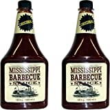 Mississippi Barbecue Grill Sauce 'Original', 2x1560ml (Doppelpack)