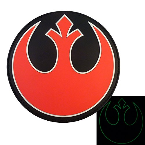 Rebel Alliance Star Wars PVC Gomma 3D Velcro Toppa Patch