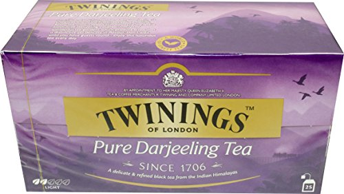 Twinings of London Pure Darjeeling Tea 3 x 25 Teebeutel Schwarztee