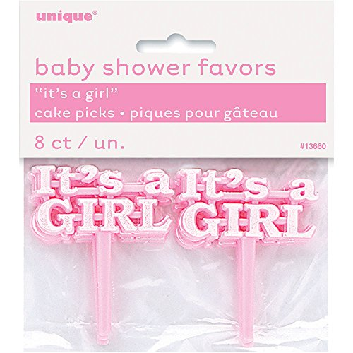 plastic-pink-its-a-girl-baby-shower-cupcake-toppers-pack-of-8