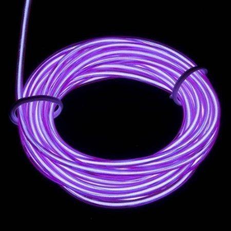 Lerway® 3M Elektrolumineszenz EL Wire Rope Kabel Weihnachten LED Licht für Tennis Schnürsenkel,Auto Dekoration,Werbeschild Ladengeschäft, Flexibel Streifen Licht - ()