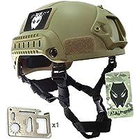 WorldShopping4U estilo MICH 2001 combatir casco protector con carril lateral y montaje NVG (de)
