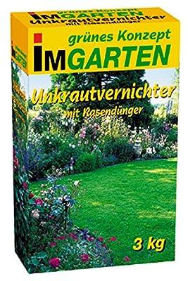 Beckmann im Garten 968803 Unkrautvernichter plus Rasendünger 3 kg von Beckmann IM GARTEN bei Du und dein Garten