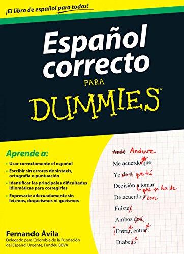 Español correcto para Dummies por Fernando Ávila