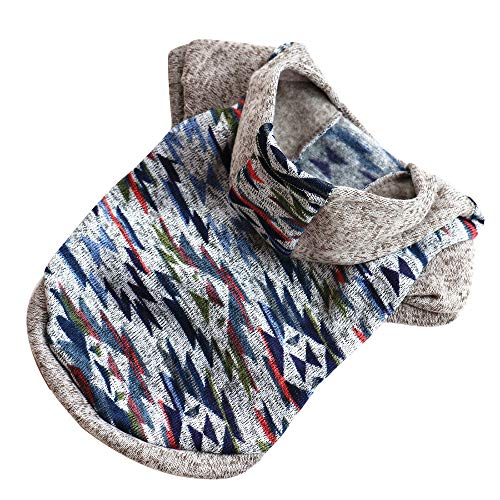 Upxiang Haustier Hund Hoodie Pullover Winter warme Fleece -