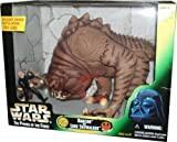 Star Wars Power of the Force Action Figure Playset - Rancor and Luke Skywalker with 9 Inch Tall Rancor and Unique 4 Inch Tall Battle-Worn Jedi Luke Skywalker Figure by Kenner