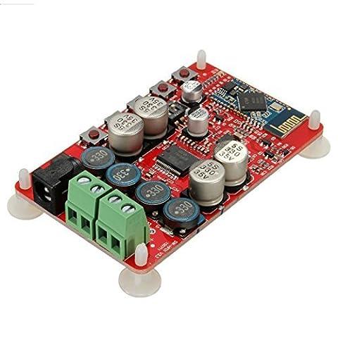 Conseil Amplificateur sans fil - TOOGOO (R)Recepteur TDA7492P 50W + 50W sans fil Bluetooth Amplificateur audio Conseil Module Partie