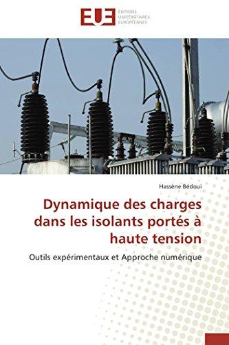 Dynamique des charges dans les isolants portés à haute tension