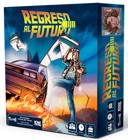 Crazy pawn Juego de Mesa Regreso al Futuro, Multicolor (8436581780086)