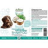Aniforte Fellharmonie Shampoo mit Kokosöl-Extrakt & Aloe Vera 200ml Hundeshampoo Kokos-Shampoo – Naturprodukt für Hunde - 4
