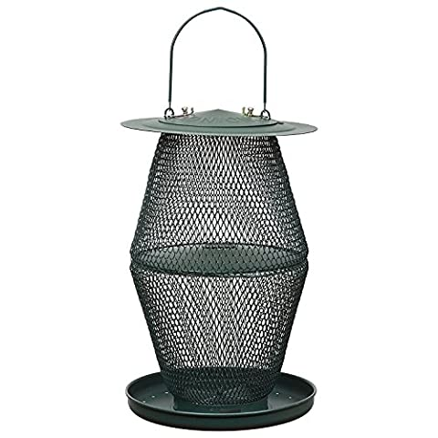 Opus Lantern Forest Wildvogel-Futterspender, GL00323, grün