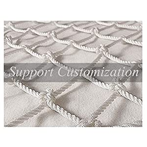 Rope Net,Protective Netting Baby Banister Child Stairs Safety Rail  Pet Mesh Net Railing Netting Guard for Kids Lacrosse  Baseball Archery Netted Golf Ball Goal Backstop Pitchback Net Netting Nets   13