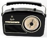 GPO Retro Rydell - Radio (Portátil, Analógica, Am, FM, LW, MW, SO, 88-108 MHz, 530-1600 kHz, 150-285 kHz)