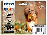 Epson Original 378XL/478XL Tinte Eichhörnchen, XP-15000, Amazon Dash Replenishment-fähig (Multipack, 6-farbig)