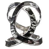Cruce de anillo de plata