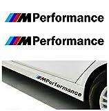 2 Pegatinas 15 cm M Performance adhesivo para BMW M Sport
