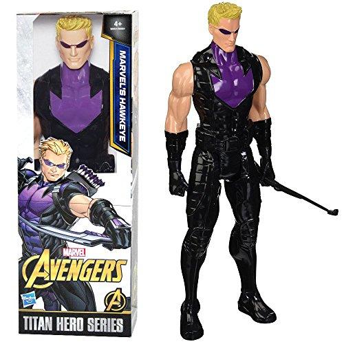 Hawkeye Puppe | Hasbro B8501 | Marvel Civil War | 30 cm | Titan Hero Serie