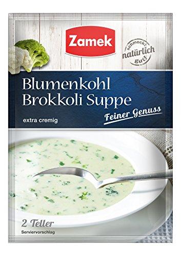 Zamek Feiner Genuss Blumenkohl-Brokkoli-Suppe 40er Pack, (40x41g)