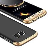 Funda Galaxy S7 Edge,Carcasa Samsung S7 Edge,JMGoodstore Funda 360 Grados Integral Para Ambas Caras...