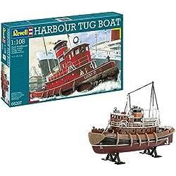 Revell- Maqueta Harbour Tug Boat, Kit Modello, Escala 1:108 (5207) (05207)