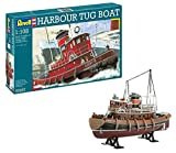 Revell 05207 - Harbour Tug Boat Kit di Modello in Plastica, Scala 1:108