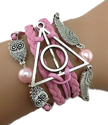 bracelet-harry-potter-rose-hiboux-chouette-triangle-rdlm-vif-dor-couleur-argent